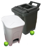 Pedal Bin or<br />Kerbside Caddy