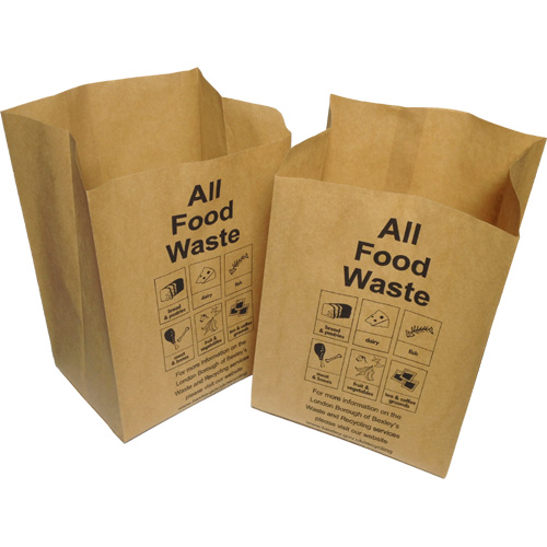 London Borough Of Bexley Paper Food Waste Kitchen Caddy