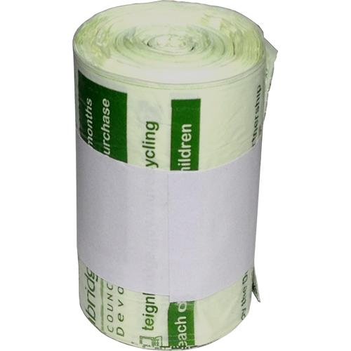 Teignbridge Compostable Food Waste Kitchen Caddy Liner